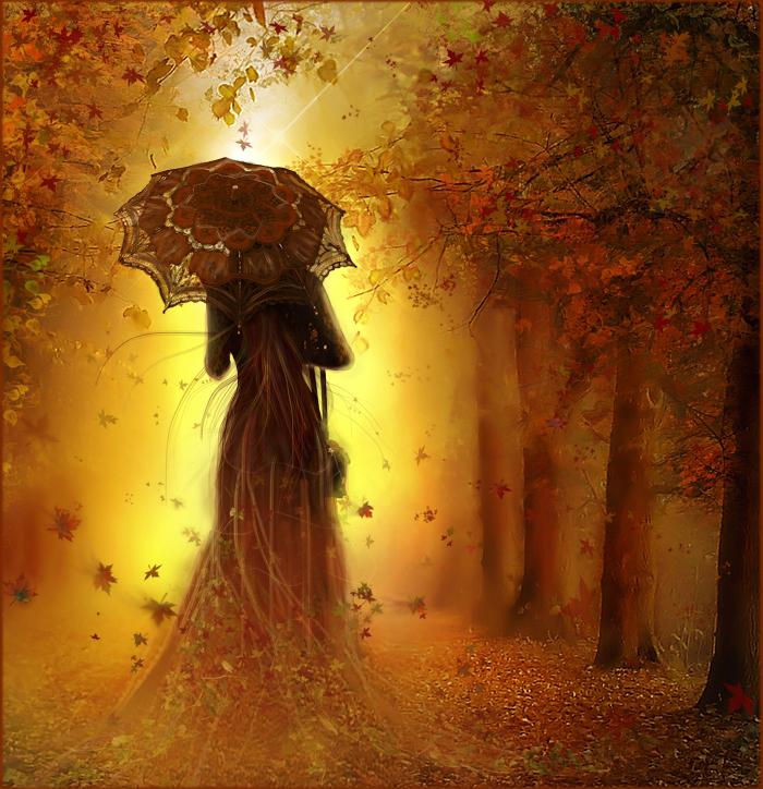 Девушка осень фотоальбомы осень